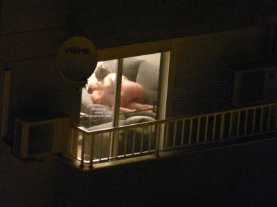 Spying on next door neighbor sex