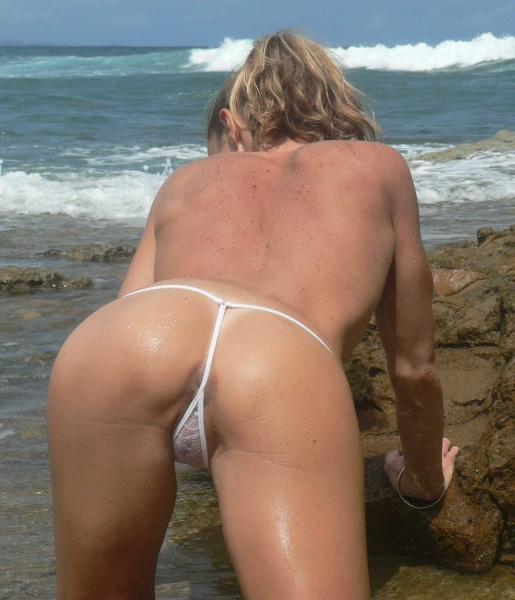 Was specially beach pubic hair see through for