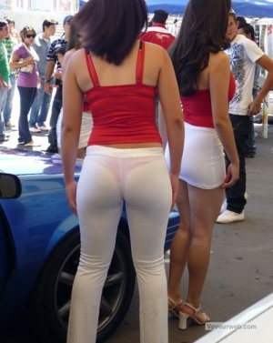 White pants - Voyeurweb's Wiki about Sex