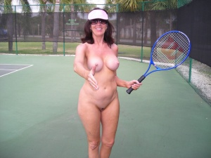 Have forgotten Naked tennis life. There's