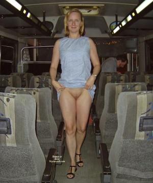 Exhibitionist girl without underwear 2