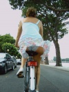 Sample Bicycle Upskirt