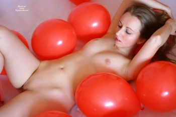 Balloon sex fetish
